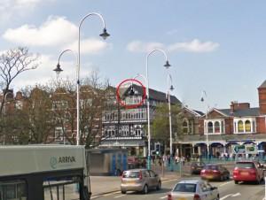 CCTV camera 15 Lord Street Southport